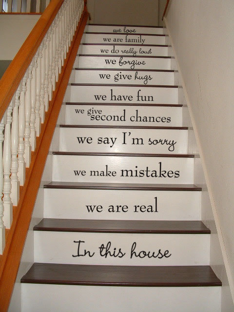 Stairs words